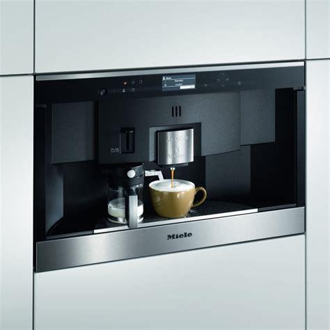 miele espressomaschine miele cva6431clst 60cm built in nespresso coffee machine