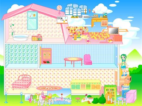 doll house clean up doll house games decorate images