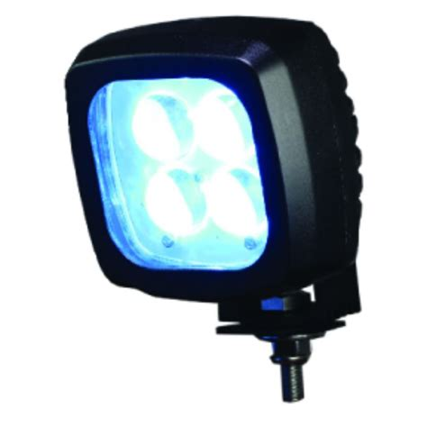 big led lights quot big blue quot forklift blue light