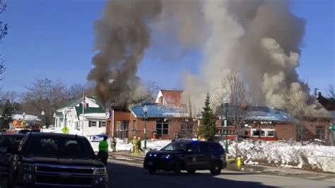 Winthrop Maine Post Office by Destroys Winthrop Post Office Wgme