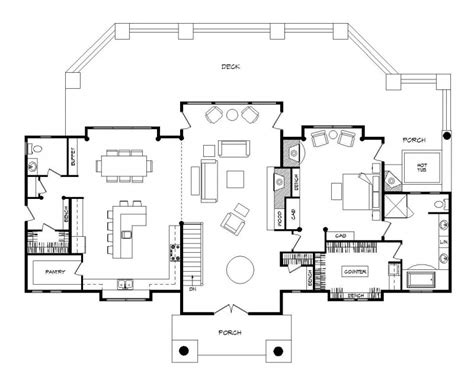 log home floor plan grandview log homes cabins and log home floor plans