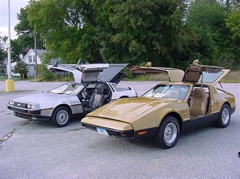 delorean bricklin 1981 delorean back to the future car and 1974 bricklin