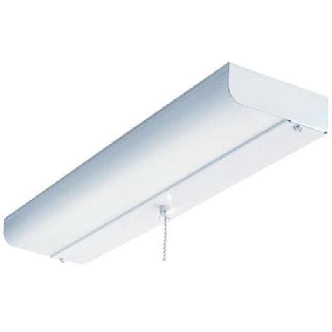 lithonia lighting 1 light white fluorescent ceiling closet