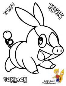 sharp pokemon black white coloring victini swoobat free pokemon white