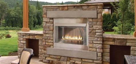 Gas Fireplace Outdoor Patio by Empire Loft Premium Outdoor Gas Fireplace