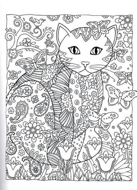 advanced cat coloring pages pinterest the world s catalog of ideas