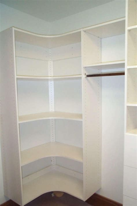 walk in closet cabinets walk in closet closet designs and corner shelves on pinterest