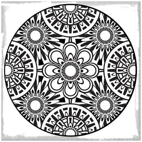 flor mandala para imprimirflor mandala mandalas de flores para imprimir y colorear archivos
