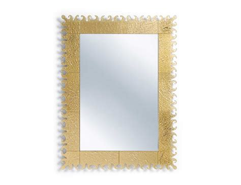 Gold Bathroom Mirrors with Mastella Venezia Bs01 Modular Designer Mirror In Gold Murano Glass