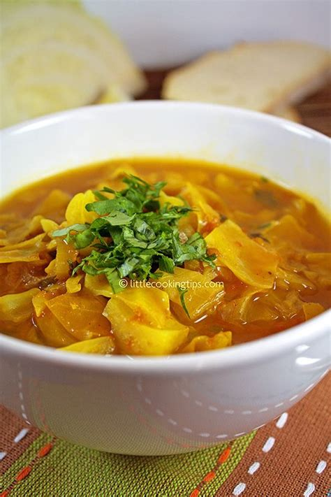 Cabbabe Soup Detox Recipe by A Warm Spicy Detox Cabbage Soup Top To