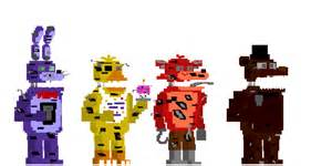 My fnaf 4 minigames style animatronics 5 by kero1395 on deviantart
