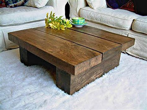 coffee tables ideas rustic wooden coffee table with
