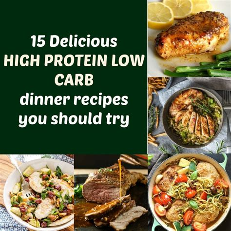 15 delicious high protein low carb dinner recipes you