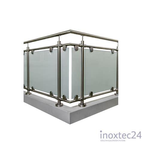 edelstahl glasgel nder glas gel 228 nder aus edelstahl f 252 r aufgesetzte montage u form