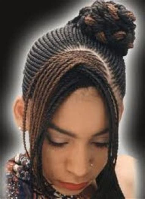 ghana weaving hairstyles for 2014 latest ghana weaving all back newhairstylesformen2014 com