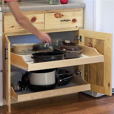 kitchen cabinet pull out drawers birch pullout shelf kits for kitchen or bath shelf kit