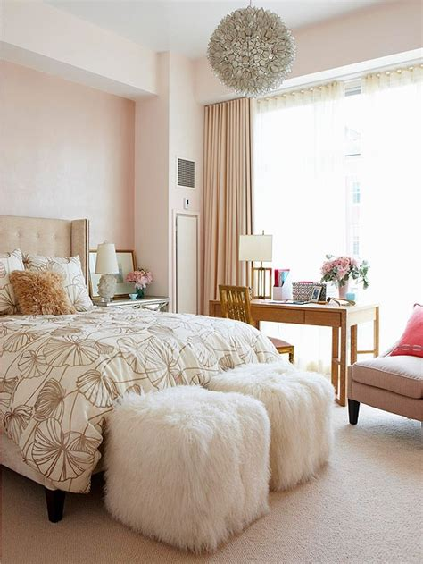 romantic  tender feminine bedroom design ideas
