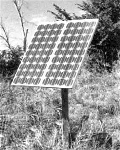 livestock well solar panel cost alternative livestock watering systems