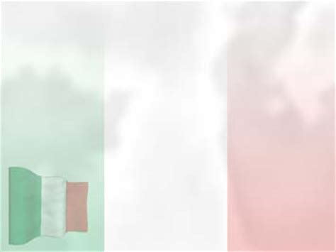 Italy Flag 01 Powerpoint Templates Italian Powerpoint Template