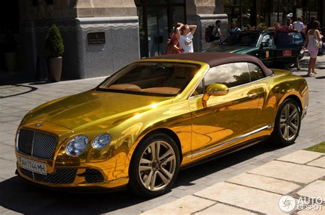 bentley gold bentley continental gtc 2012 18 juli 2012 autogespot