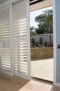 Bypass Shutters For Patio Doors Pin By Budget Blinds Of Clermont On Shutters