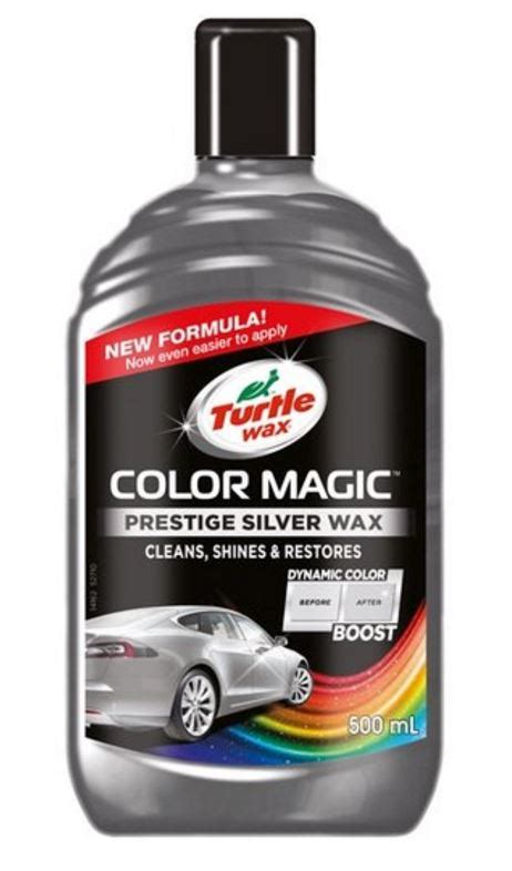 turtle wax color magic turtle wax colour magic shades of silver 500ml
