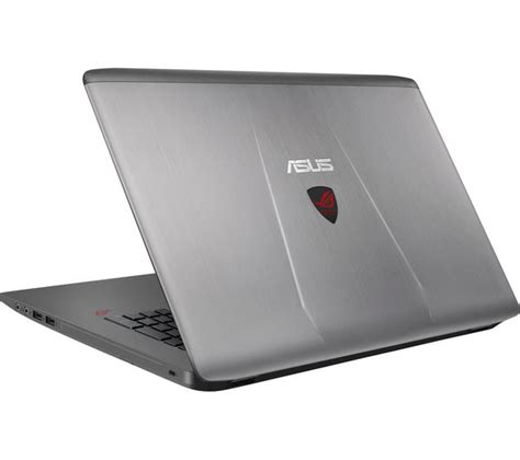 Laptop Asus Republic Of Gamer buy asus republic of gamers gl752 17 3 quot gaming laptop grey free delivery currys