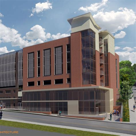 College Park Parking Garage by Structural Mechanical Electrical Plumbing Wv