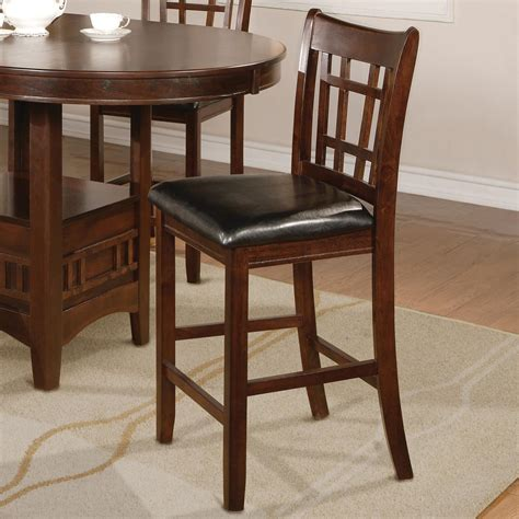 Crown Royal Bar Stools by Crown Hartwell Transitional Counter Height Chair