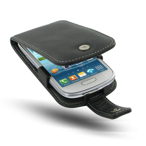 Casing Mini 3 samsung galaxy s3 mini leather flip cover pdair sleeve pouch