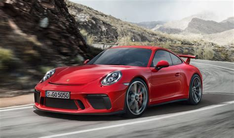 Porche 911 Gt3 Price 2018 porsche 911 gt3 revealed price specs and a manual