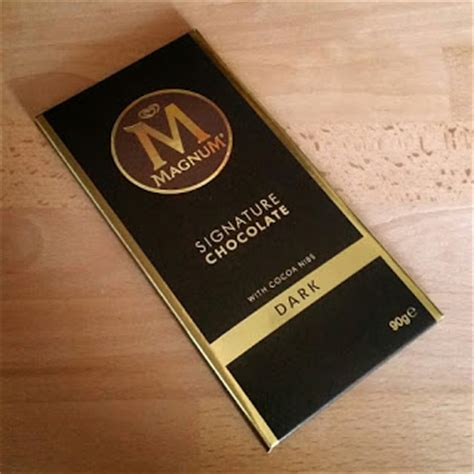 Magnum Signature Chocolate 90gr one treat at a time magnum signature chocolate with cocoa nibs