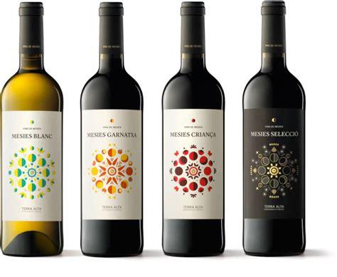 label design of wine mesies wines packaging by txell gr 224 cia albert mart 237 nez