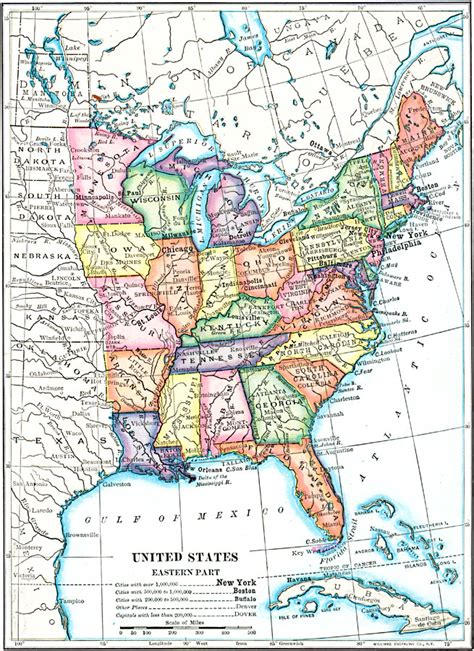 map of the northeast usa the eastern united states