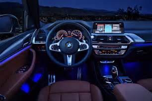 Bmw X3 Interior 2018 Bmw X3 Look Motor Trend