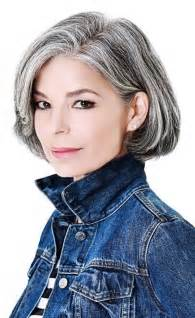 with salt and pepper hair how can i get platinum highlights 1314 best images about gorgeous gray hair on pinterest