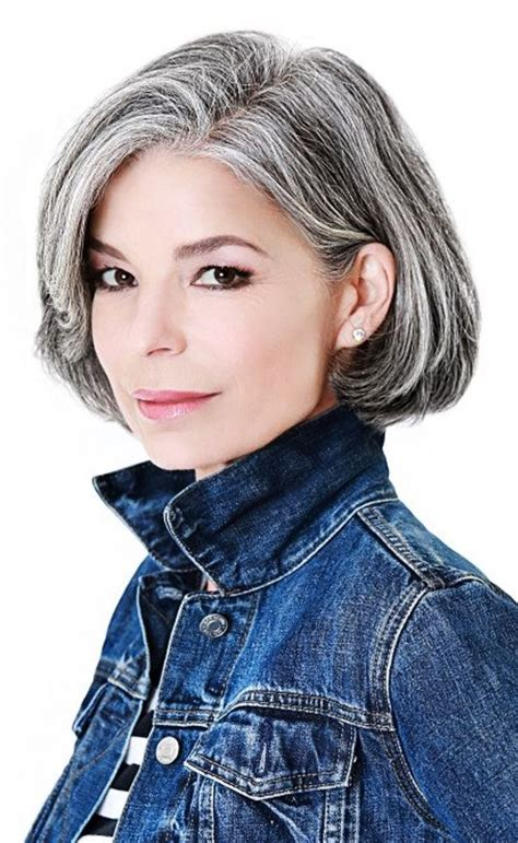 hair styles to hidegray hair grey hair hide or not to hide hairstyles for woman