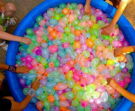 Kids party idea water balloon fight pfffft this would be fun for adults too recipes