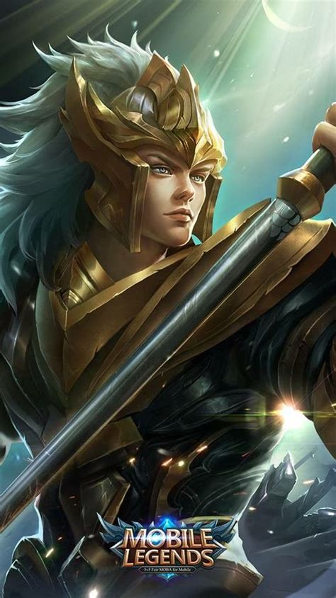 heroes wallpaper game mobile legends animasi animasi