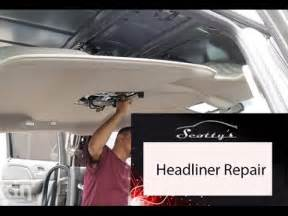 how to remove a honda ridgeline headliner part 1