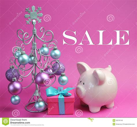 pink tree sale sale still with pastel pink and blue with