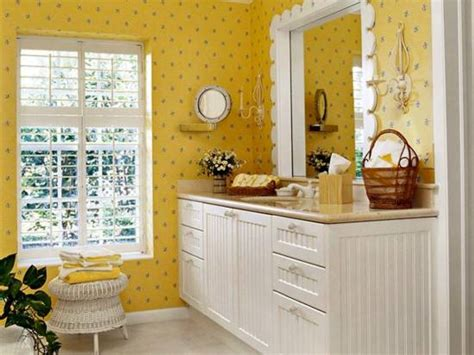sunny bathroom photo 18 tips for rocking bathroom wallpaper