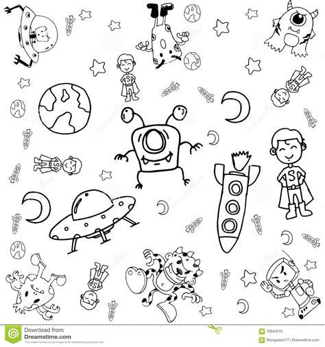 doodle galaxy doodle galaxy a stock vector image 70644510