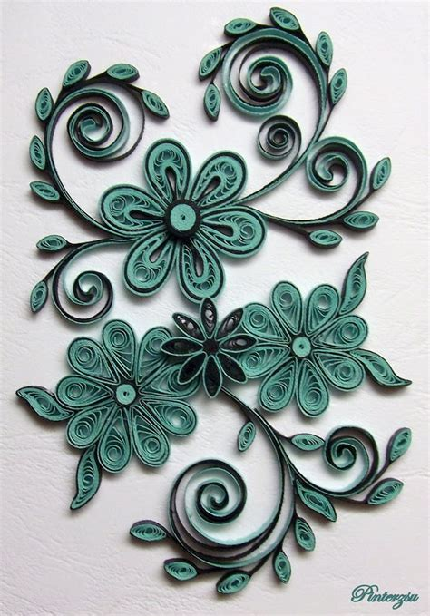 designs free paper quilling flower designs www pixshark images