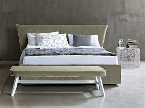 Low Upholstered Headboard by Bed With Upholstered Headboard Low By Letti