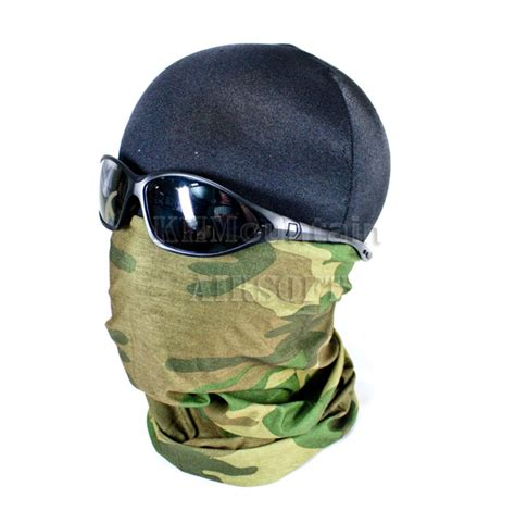 Emerson Airsoft Combat Mask emerson tactical half mask woodland khm airsoft ebay