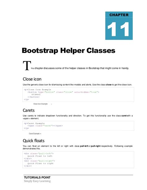 bootstrap tutorial simple bootstrap tutorial