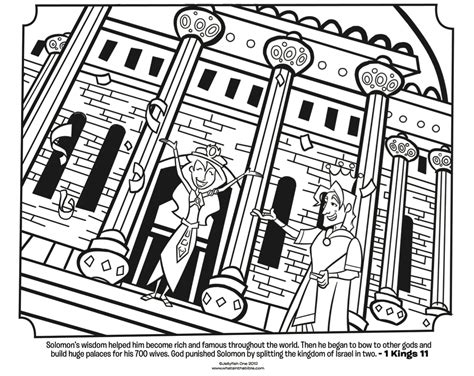 king solomon bible coloring pages what s in the bible king solomon coloring page coloring home