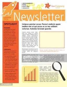 templates for newsletters in word psd html doc word newsletter exle template