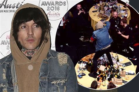 coldplay vs bmth bring me the horizon deny jumping on coldplay s table was